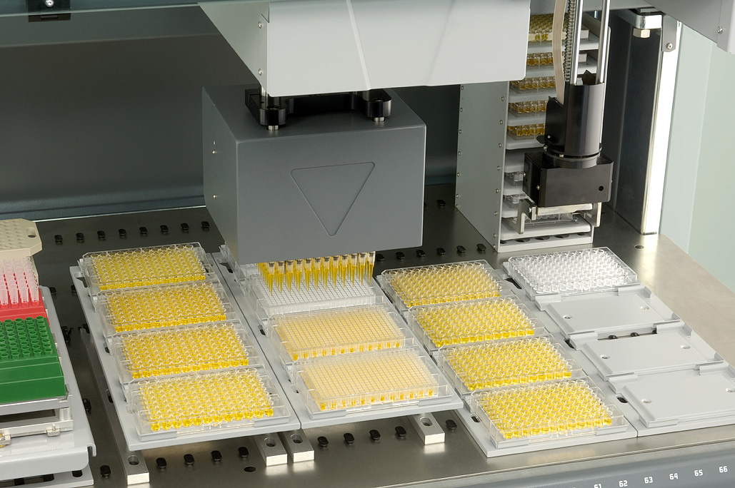 Liquid Handling Robotic System from Tecan